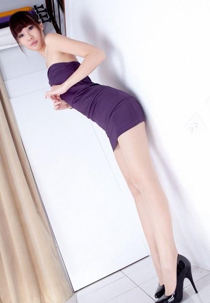 今日の一押し小姐 4-15 ボディラインのセクシーさ(笑) (4)