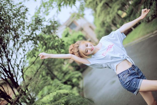 今日の一押し小姐 4-24 可愛いぞ!天然っぽくて大好き(笑) (2)
