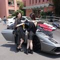 Photos: 今日の一押し小姐 ランボルギーニと小姐とフリマ(笑) (3)