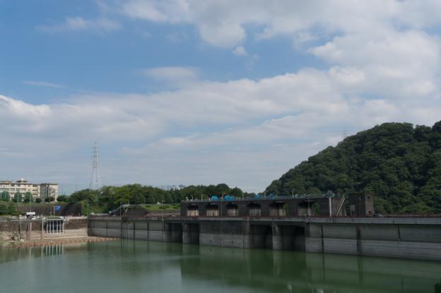 【津久井湖の城山ダム】2