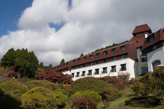 芦ノ湖にある「山のホテル」