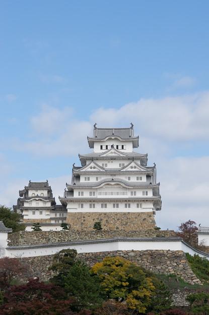 姫路城【07_三の丸広場から見た天守閣】