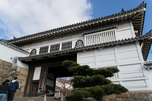 姫路城【08_菱の門】