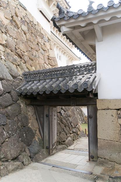 姫路城【21_水ニ門】