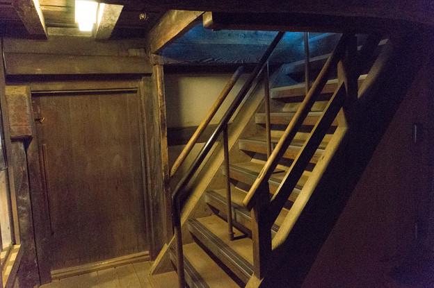 姫路城【25_天守内の階段】