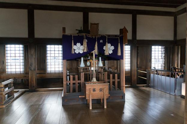 姫路城【28_最上階にあるお宮】
