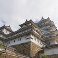 姫路城【32_本丸から見る天守】1