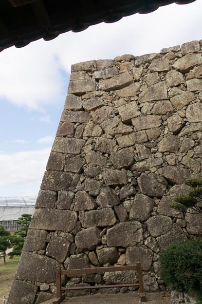 姫路城【37_備前門の先の城壁】