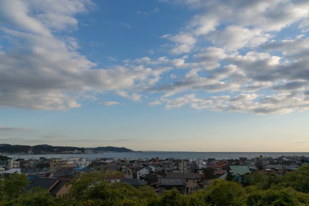 鎌倉【長谷寺からみた海】