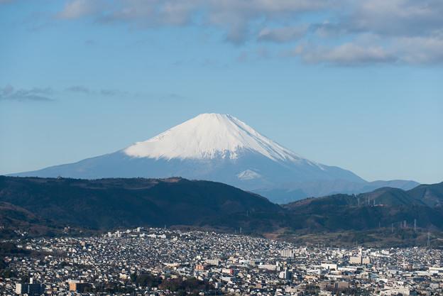富士山【弘法山からの眺め】2