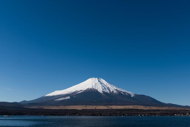 富士山【山中湖からの眺め】3