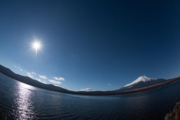 富士山【山中湖からの眺め】6