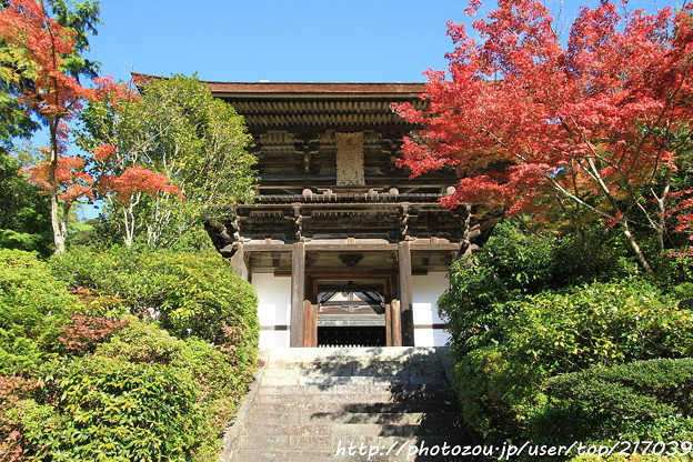 IMG_9673圓成寺・楼門(重要文化財)