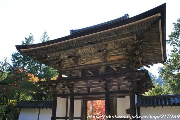 IMG_9694圓成寺・楼門(重要文化財)