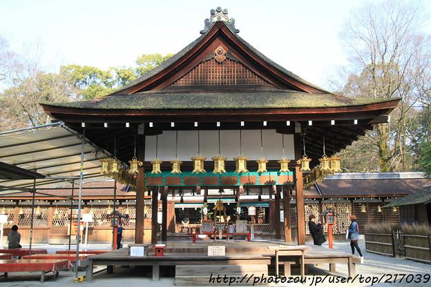 IMG_0702賀茂御祖神社(下鴨神社)・河合神社・舞殿