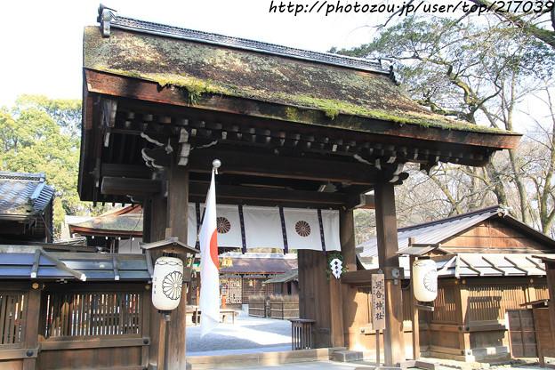 IMG_0712賀茂御祖神社(下鴨神社)・河合神社・門