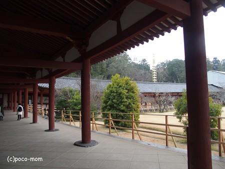 東大寺大仏殿 回廊 P1220996