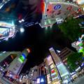写真: 渋谷でTHETA