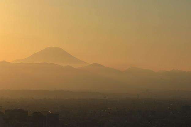 写真: 富士遠望