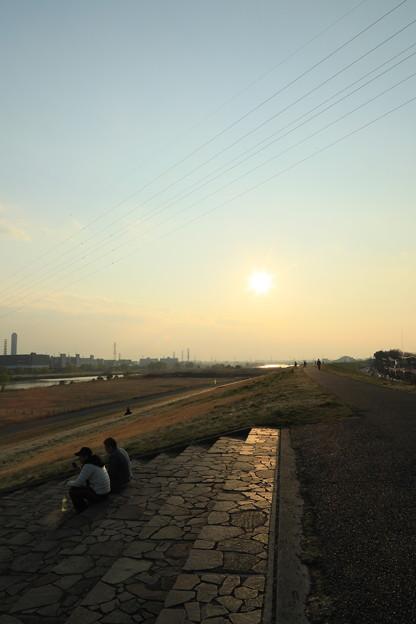 Photos: 荒川土手 夕景