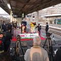 【祝開業】我孫子駅での上野東京ライン開業セレモニー前の様子