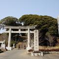 茨城県護国神社 鳥居