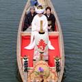 写真: 嫁入り舟
