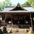 写真: 神崎神社 拝殿