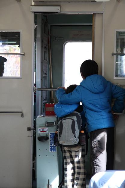 Photos: 長野電鉄 屋代線 3500系 車内にて