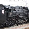 会津若松駅 D51形蒸気機関車2
