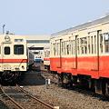 Photos: 関東鉄道 水海道車両基地 キハ350形
