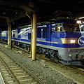 上野駅 寝台特急北斗星