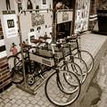 写真: 貸し自転車
