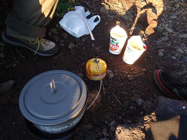城ヶ崎で朝食
