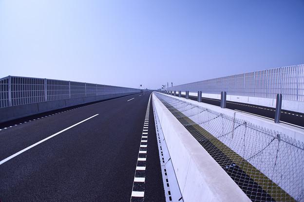 圏央道 幸手ランプ 久喜白岡インター方面