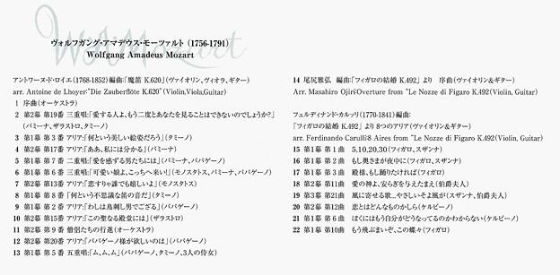 軽井沢アマデウスバンド 魔笛・フィガロの結婚 CD発売!