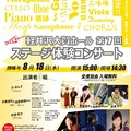 写真: 軽井沢大賀ホール 第7回 ステージ体験コンサート 2016     軽井沢アマデウスバンド スペシャルゲスト!