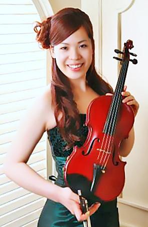 中山友希 なかやまゆき ヴァイオリン奏者 ヴァイオリニスト