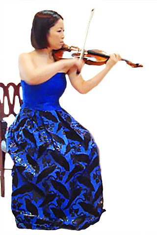 北原めぐみ きたはらめぐみ ヴァイオリン奏者 ヴァイオリニスト Megumi Kitahara