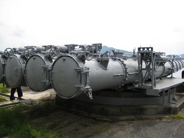 魚雷発射管.92式4連装