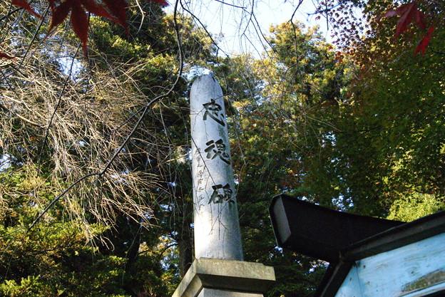 忠魂碑、加茂神社