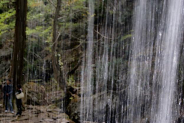 岩井の滝.裏見