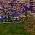 はままつフラワーパーク 夜桜 360度パノラマ写真(7) HDR