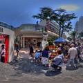 2015年5月17日 シズオカ×カンヌウィーク2015 街角のマルシェ 入り口ゲート付近 360度パノラマ写真 HDR