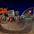 Photos: 2016年7月7日 清水銀座 七夕 夜景 360度パノラマ写真(3) HDR