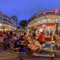 Photos: 2016年8月12日 静岡夏祭り夜店市 360度パノラマ写真(4) HDR