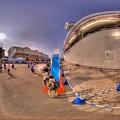 写真: 2016年7月18日 清水港 ダイヤモンドプリンセス寄港 360度パノラマ写真(4) HDR