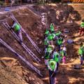 駿府城天守台発掘調査 天守台周囲の石垣 北西部付近