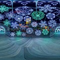 「清水港 海と光の空間」 清水港・エスパルスドリームプラザのイルミネーション 360度パノラマ写真(3)