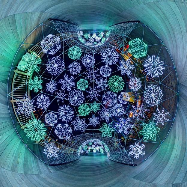 「清水港 海と光の空間」 清水港・エスパルスドリームプラザのイルミネーション Little Planet(2)-2